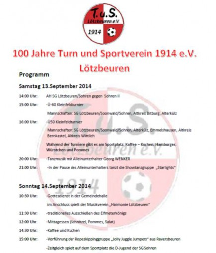Sportverein 2014 2