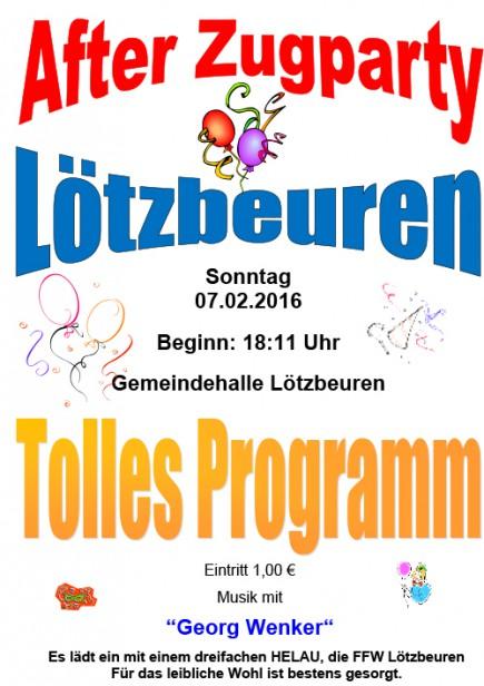 Fasching in Loetzbeuren
